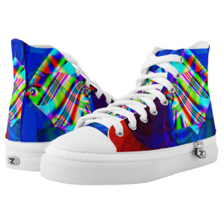 Fractal Shoes, Cubism High Tops