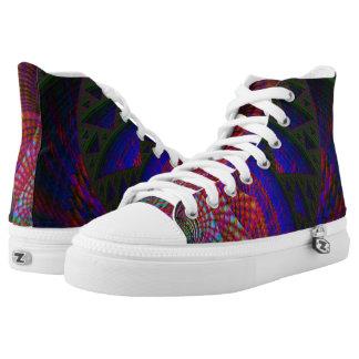 Fractal Shoes, Iris High Tops