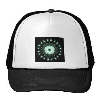 Fractal snowflakes hats
