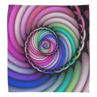 Fractal Spiral Candy Shop Bandana