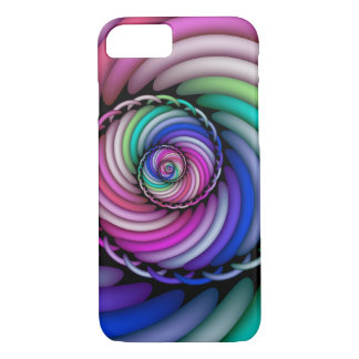 Fractal Spiral Candy Shop Case-Mate iPhone Case