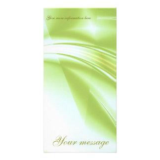 """Fractal """"Spring Spirit"""" Photo Card Vertical"""
