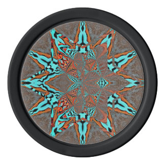 Fractal Star of Future Complexity Poker Chips