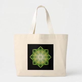 Fractal Stardust green Bags