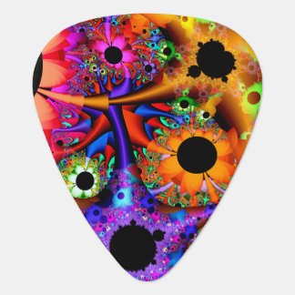 Fractal Sunflower Style Pick