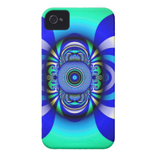 Fractal Third Eye Fantasy Digital Case-Mate iPhone 4 Case