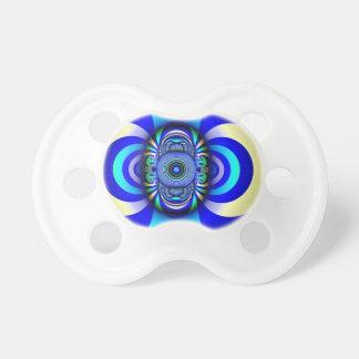 Fractal Third Eye Fantasy Digital Pacifier
