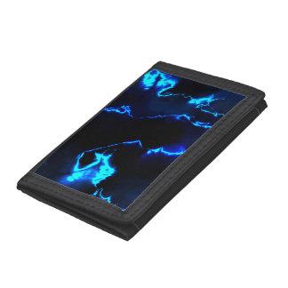 fractal thunderstorm (SF) Tri-fold Wallet