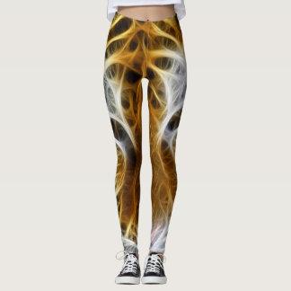 Fractal Tiger Leggings