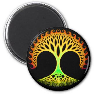 Fractal Tree of Life Inspiration Magnet