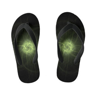 Fractal Views... Kid's Flip Flops