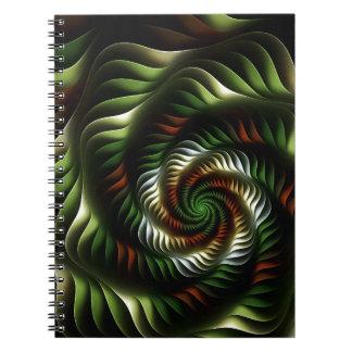 Fractal vortex notebook