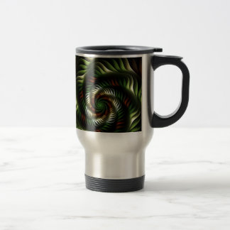 Fractal vortex travel mug