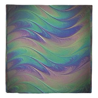 Fractal Wave Duvet Cover