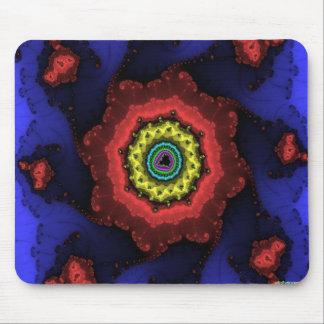 fractal wheel mouse pad