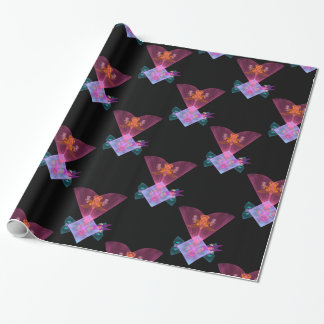 "Fractal ""Wing tile Fractal"" Wrapping Paper"