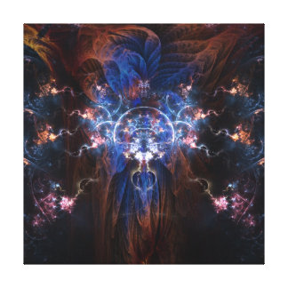 Fractal Wizard on wrapped canvas 16x16