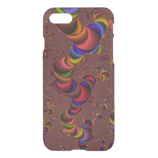 Fractal Worm iPhone 7 Clearly™ Deflector Case