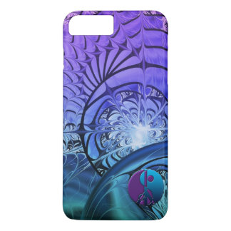 Fractal Yin-Yang Peace iPhone 7 Plus Case
