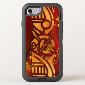 FractalCelt 1 Graphic Design OtterBox Defender iPhone 7 Case