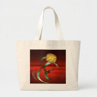 fractale d'imaginaire sur le rouge sacs