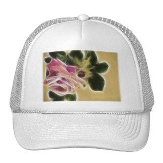 Fractale rose de photo casquettes de camionneur