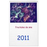 fractales de ana calendriers
