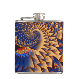 Fractalicity Hip Flask