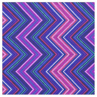 Fractalius Chevron E-W Purple Fabric