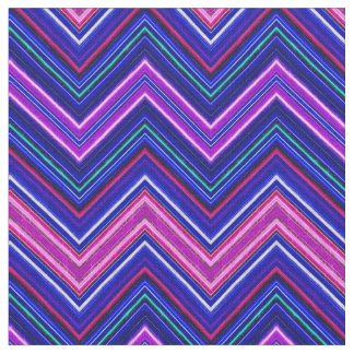 Fractalius Chevron N-S Purple Fabric