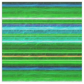 Fractalius Stripes E-W Teal Fabric