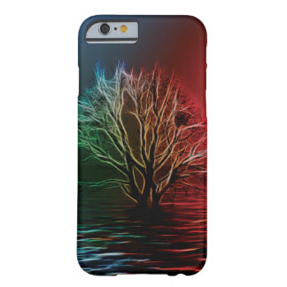 Fractalius Tree, Sky and River Barely There iPhone 6 Case