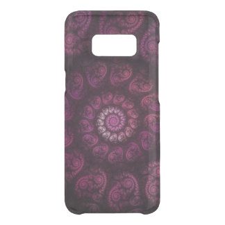 Fractalized Pink Spiral Uncommon Samsung Galaxy S8 Case