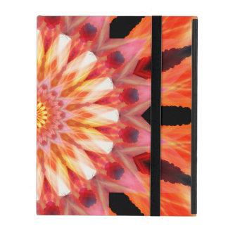 fractalized sunrise Mandala Cases For iPad