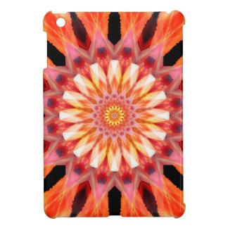 fractalized sunrise Mandala iPad Mini Covers