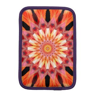 fractalized sunrise Mandala iPad Mini Sleeves
