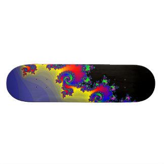 Fractal's Edge: Custom Skateboard