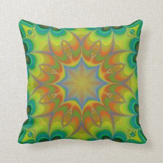 Fractascope 5 Modern Throw Pillow