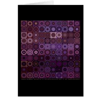 Fractascope Kaleidestry 10x10 Card