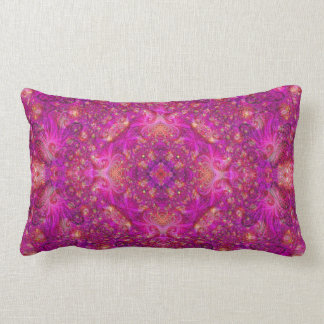 Fractually Fuschia Pillow
