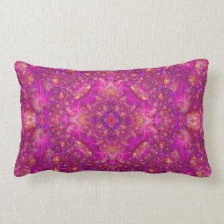 Fractually Fuschia Pillow