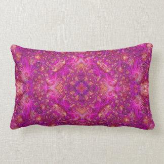 Fractually Fuschia Pillow (series of 5 #1)