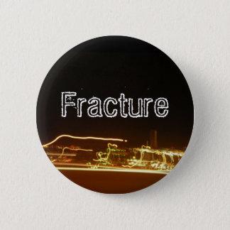Fracture 2 Inch Round Button