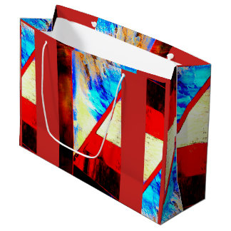 Fracture Large Gift Bag