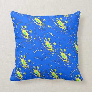 Fracture Us Throw Pillows