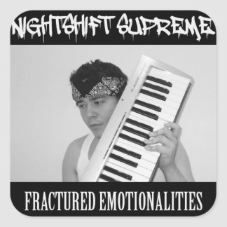 Fractured Emotionalities stickers