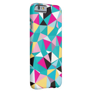 Fractured Geometric Pattern Barely There iPhone 6 Case