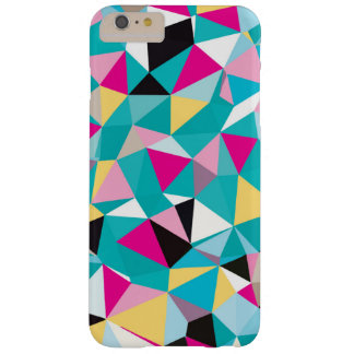 Fractured Geometric Pattern Barely There iPhone 6 Plus Case
