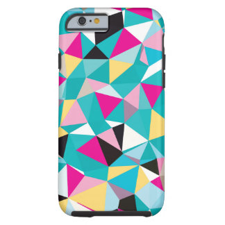 Fractured Geometric Pattern Tough iPhone 6 Case
