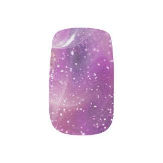 Fractured Light (Purple) Minx Nail Art